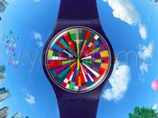 Orologi Swatch collezione world colors