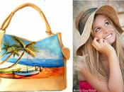 Borse dipinte mano, hand-painted accesories.