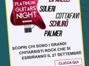 Platinum Guitars Night: sullo stesso palco Goodbye Summer Festival migliori chitarristi rock italiano! settembre)