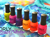 Orly, Baked Collection Review swatches