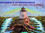 "Maura saviano maestro d'arte delegata corrispondente movimento ""cento artisti mondo"""
