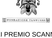 """PREMIO SCANNO Provincia L'Aquila """"Riccardo Tanturri"""""""