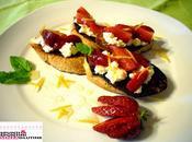 100% Gluten Free (fri)Day Food Revolution Day: Bruschette all'uovo fragole miele Jamie colazione double (Golosa Genuina)