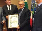 Cavalieri d'Italia Convegno Gubbio festeggiano prof. Auro Caraffa