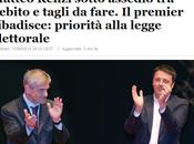 conti Renzi tornano? Allora trastulliamoci L'Italicum toccasana paese)