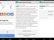 Google Opinion Rewards: come ricevere credito Play sondaggi