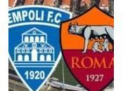 Serie Empoli Roma apre giornata