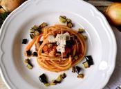 Piatto Cirio: Bucatini Spada Melanzane