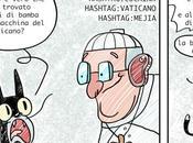 """Fermata chili coca un'auto Vaticano: Gatto Stivale"""" incontra Papa Francesco"""