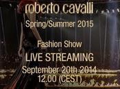 Roberto Cavalli live streaming Uptowngirl Milan Fashion week
