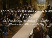 BluMarine Live Streaming UptowngirL Milan Fashion Week