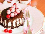 Cheesecake cioccolato fondente glassa moscato