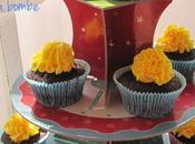 Cupcakes cioccolato crema burro base pàte bombe