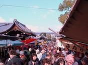 Kyoto, giorno mercato tempio Toji