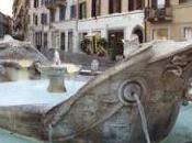 """Roma, torna """"splendere"""" Barcaccia piazza Spagna Roma. """"splendere""""?"""