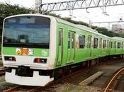 Ecco foto treno Rilakkuma sulla Yamanote Line