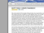 Jane Burgermeister Massimo Mazzucco prendono grosso abbaglio sulla cosiddetta rivolta d'Egitto