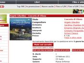 Inizia anche Italia distribuzione Concerto Oliena