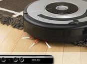 Roomba: l'aspirapolvere robot comandata Kinect. VIDEO