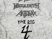 Sbarcano Italia luglio 2011 (Metallica, Slayer, Megadeth Anthrax)