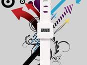 L'orologio carta... colori