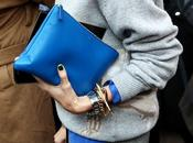 Street...Electric Blue...Woman Fashion Week, Milan