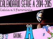 Serie calcio femminile 2014-2015: girone