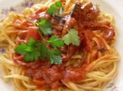 Spaghetti polipetti sugo