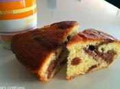 Torta variegata panna cacao amaro