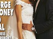 L'abito sposa Amal, nuova signora Clooney