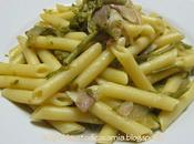 Penne asparagi pancetta