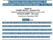 polizia dell'Autorità Palestinese collabora Israele forza trattato firmato Arafat