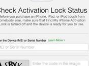 iCloud verificare l'iPhone stato rubato