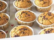 Pumpkin, spelt oats muffins