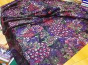 Tessuto abbigliamento femminile Jersey dévoré viscosa lana