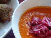 Salsa rossa base peperoni, pomodori cipolle Tropea