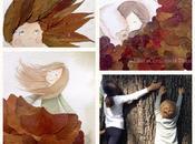 Come creare illustrazioni foglie...tutorial autunnale