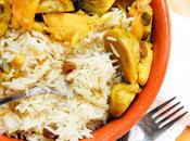 Stufato cavoletti bruxelles riso pilaf aromatico
