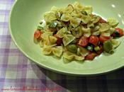 Farfalle zucchini pomodorini olive
