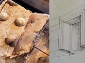 Anfipoli, ritrovato frammento porta marmorea