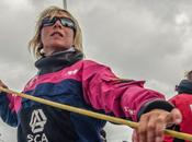 Parte Volvo Ocean Race! Helly Hansen Team l'equipaggio tutto femminile