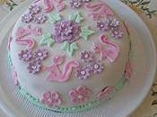 CAKE DESIGN: torta fiori coniglietti