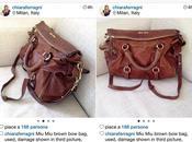 Chiara Ferragni vende 400€ borsa rotta Depop: polemica