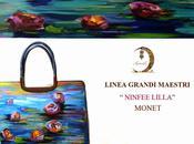 Hanùl, Borse dipinte mano, Ninfee Claude Monet