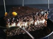 Torta cioccolato arance