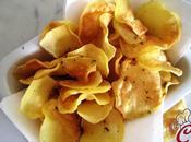 Chips patate senza frittura: l'incontro curiosità, aspettativa, desiderio gusto
