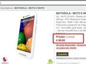 Motorola Moto offerta euro Comet