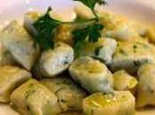 Gnocchi zucchine, prosciutto provola