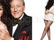 Lady Gaga Tony Bennett H&M Natale 2014