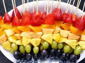 spiedini frutta caramellata